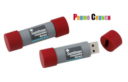 Custom shaped 3D rubber usb flash drives