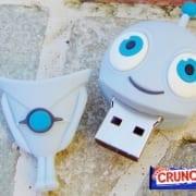 PVC custom usb flash drive promo crunch 2