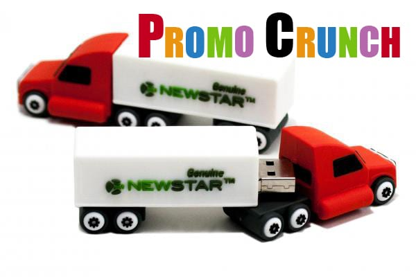 truck shaped custom usb pvc rubber flash drives