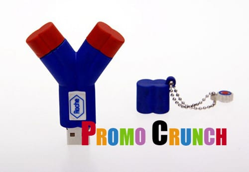 3d marketing custom usb pvc rubber flash drives