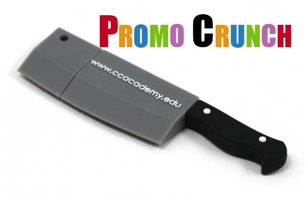 knike shape custom usb pvc rubber flash drives