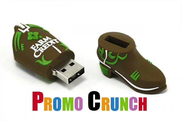 cowboy boot custom usb pvc rubber flash drives
