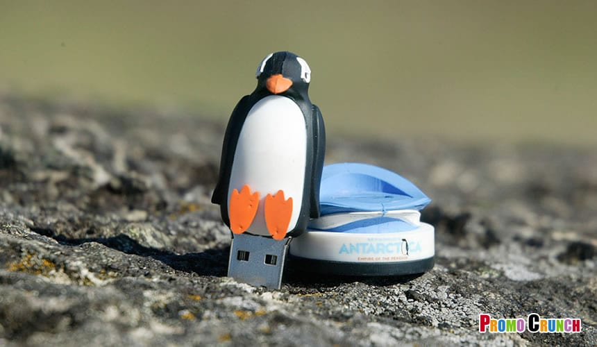 animal shaped custom flash drive from Promo Crunch