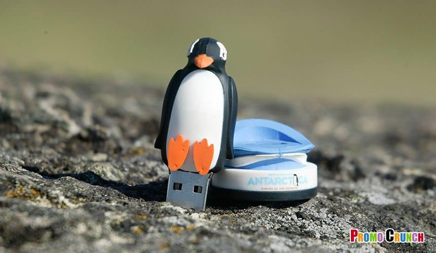 animal shaped custom flash drive from Promo Crunch