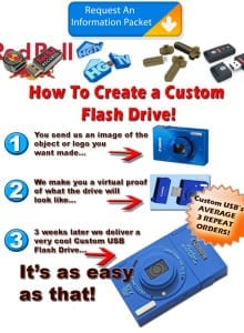 custom flash drives for b2b