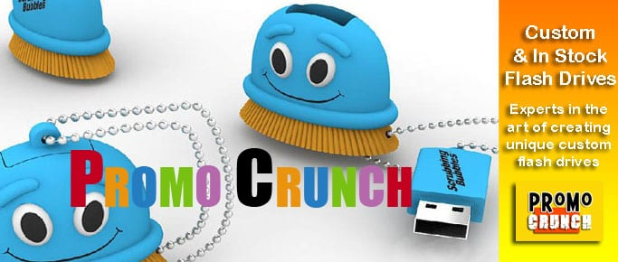 scrubbing bubbles custom usb pvc rubber flash drives