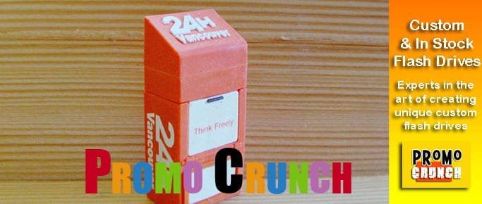 newspaper box custom usb pvc rubber flash drives