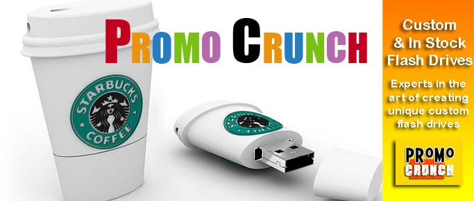 starbucks custom usb pvc rubber flash drives