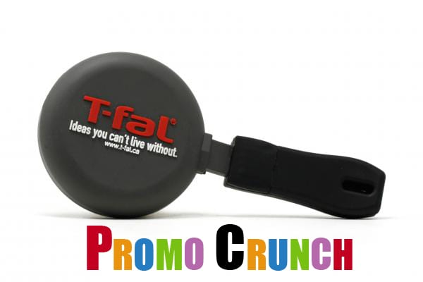 frying pan custom usb pvc rubber flash drives