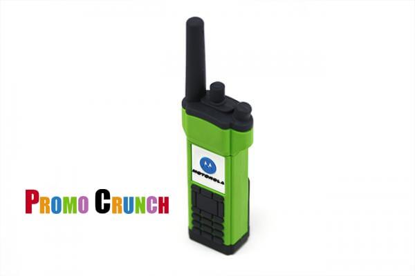 walki talkie custom usb pvc rubber flash drives