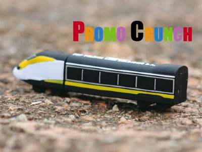 train shape custom usb pvc rubber flash drives