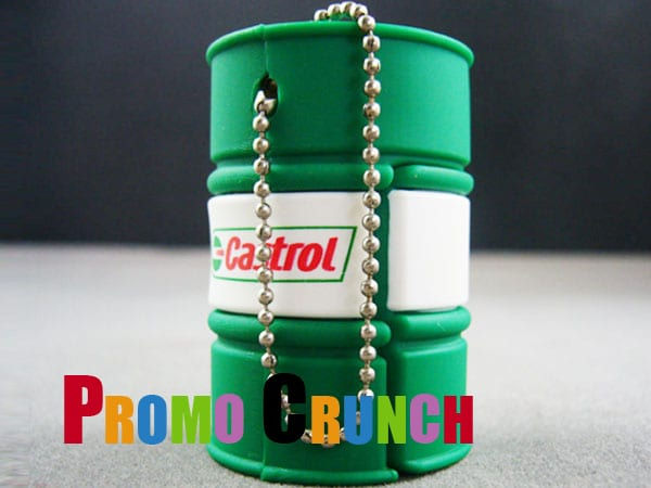 oil drum custom usb pvc rubber flash drives