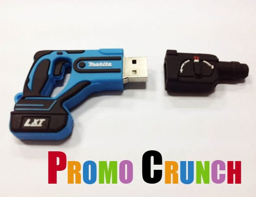 tool shape custom usb pvc rubber flash drives