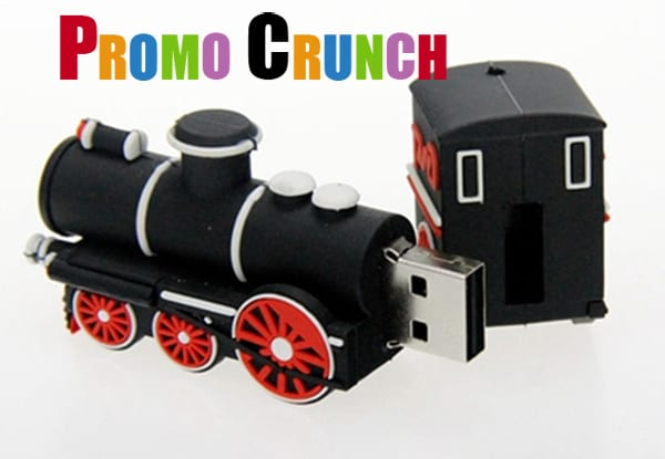 train custom usb pvc rubber flash drives