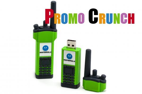 2 way radio custom usb pvc rubber flash drives