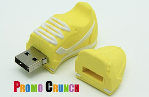 running shoe custom usb pvc rubber flash drives