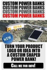 Custom Power Banks. Trust the experts