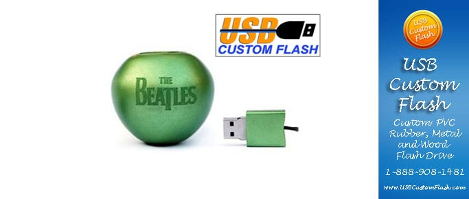 Fruit Custom PVC Rubber USB Flash Drives