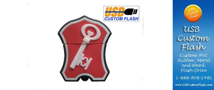 Custom PVC Rubber USB Flash Drives