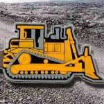 bulldozer Custom USB PVC Rubber flash drives