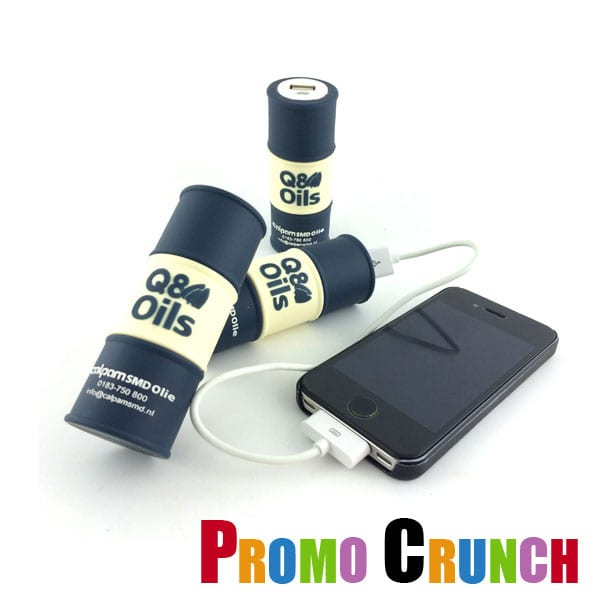 oil barrel custom promotional power banks
