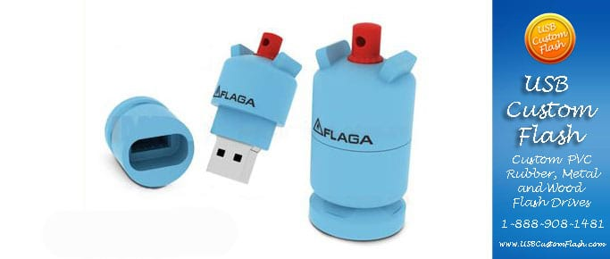 water usb custom rubber pvc flash drives