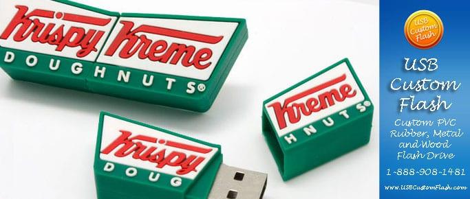 Custom PVC USB Rubber Flash Drives