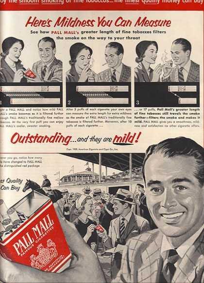 bad marketing ideas 1950s cigarette advertising