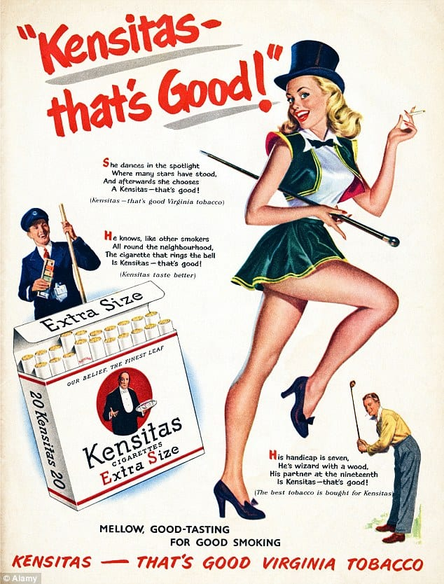 Bad Marketing Ideas 1950 S Cigarette Advertising World