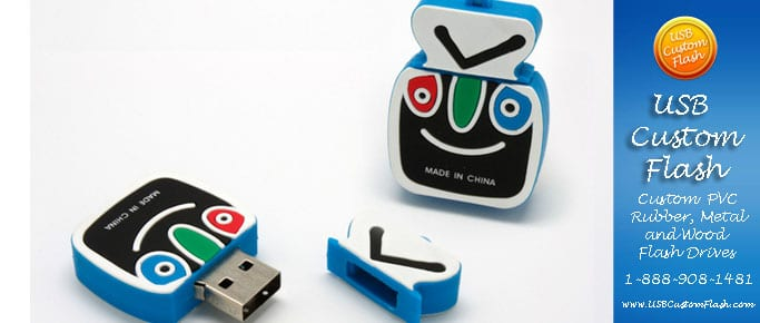 Tivo Custom shaped USB Flash Drive