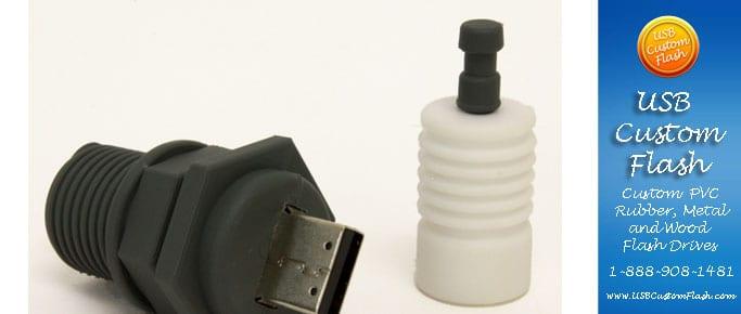 spark plug Custom shaped USB Flash Drive