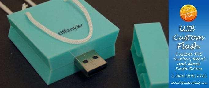 Tiffany Custom shaped USB Flash Drive