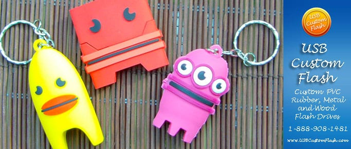 Custom shaped USB Flash Drive