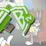 bugs_bunny_Custom_Rubber_USB_Flash_Drives