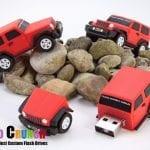 jeep shaped custom usb flash drive
