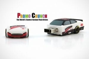 custom molded USB flash drive for promo and marketing