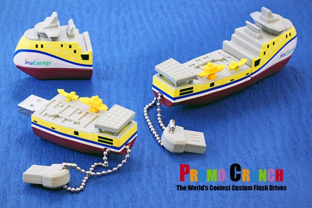 ship custom shaped USB flash drive for marketing and promotion