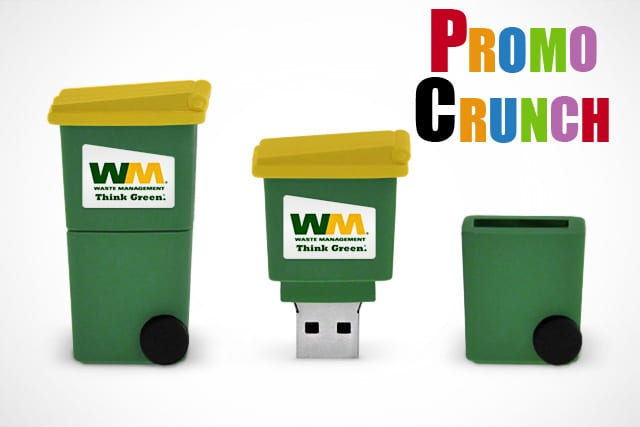 Waste Management company gets custom USB Flash Drive | World's Best