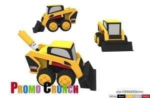 Backhoe usb flash drive