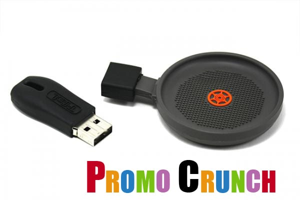 Frying pan shaped custom flash drive