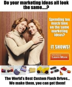 marketing ideas for flash drives