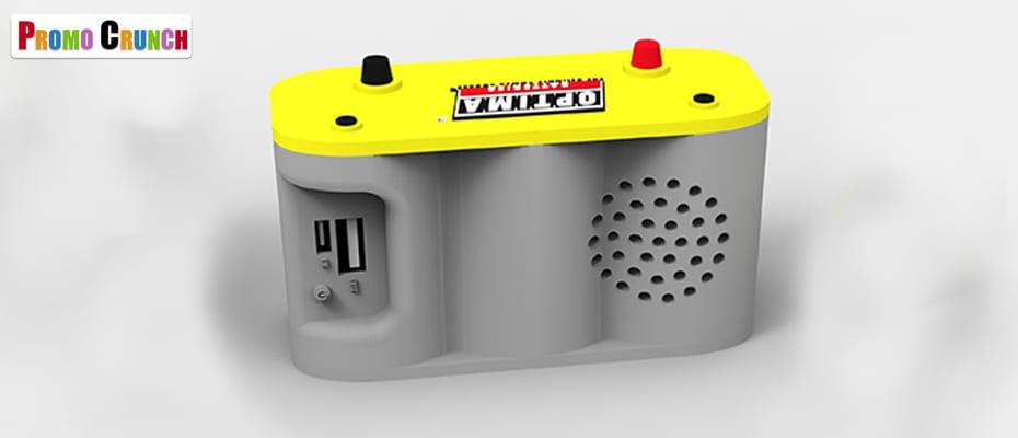 Optima battery company power bank