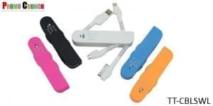 custom multi cable swiss army knife style cable for promotional products