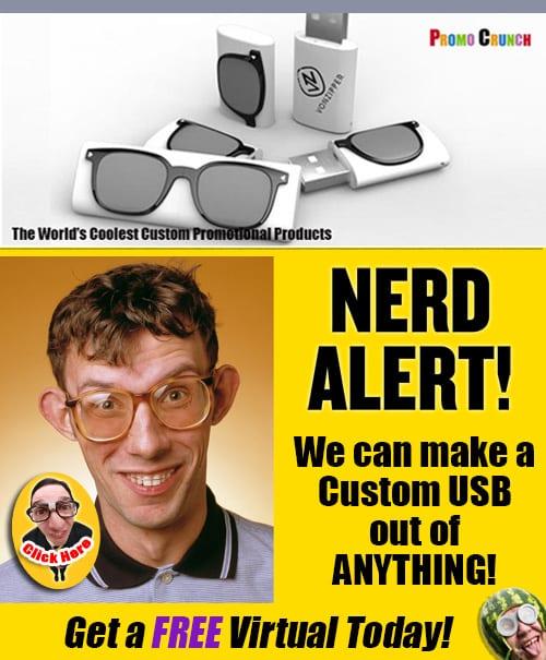 Worlds best custom shaped usb flash drives