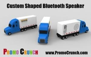 custom shaped molded bluetooth speaker promotional product