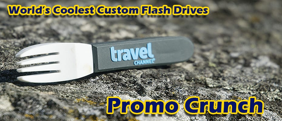 custom 3 D flash drives in the shape of your logo or product.