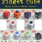 fidget cubes and fidget spinners for maketing and b2b