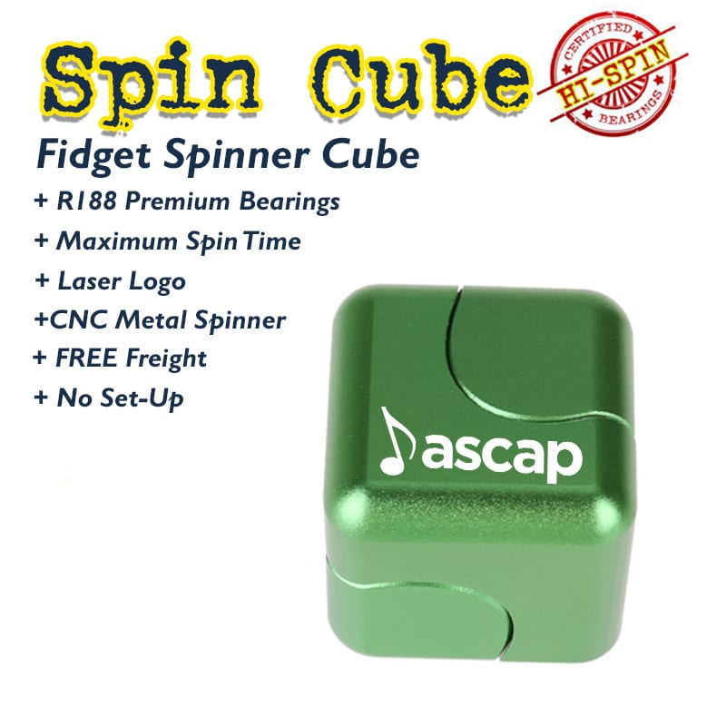 fidget spinner, fidget tool and fidget cubes are the best new idea for tradeshow swag and conference giveaways. The fidget promotional products are perfect for trade shows, b2b marketing and logo promotion.