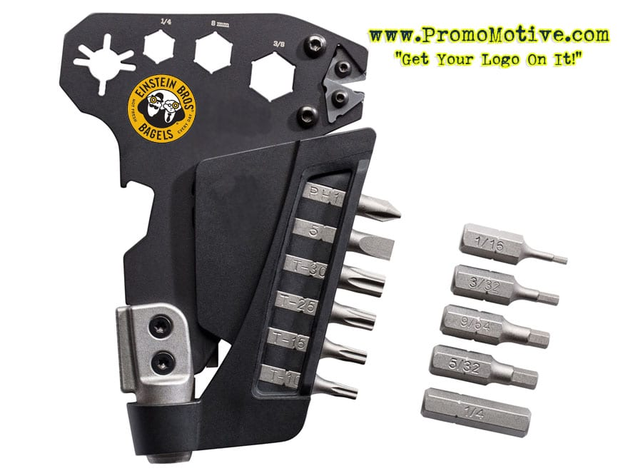 3 edc multi tool for tradeshow, conference giveaway and promotional swag
