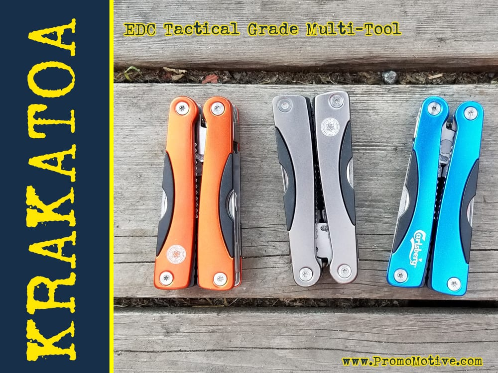 Get your logo on EDC Multi Tools. Perfect for tradeshow swag.